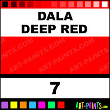 dala deep red designer gouache paints 7 dala deep red paint