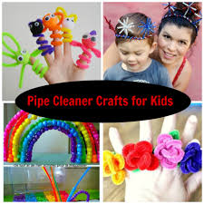 7 pipe cleaner crafts for kids mama bees freebies