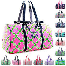 personalized 20 large quilted duffle bags giftshappenhere