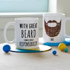 personalised u0027great beard u0027 man mug by oakdene designs