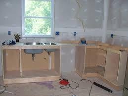making a kitchen cabinet kitchen