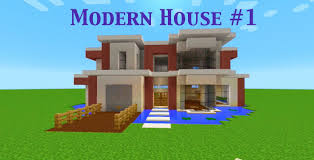 Modern Houses Minecraft Minecraft Modern House Lets Build Building Over Water Youtube