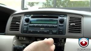 original toyota corolla radio removal toyota corolla 2003 2008