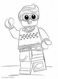 lego batman coloring pages print