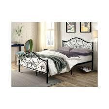 fer forgé chambre coucher lit en fer forge noir lit fer noir une tate de lit en fer noir