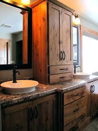 rustic bathroom storage cabinets rustic bathroom storage engem me