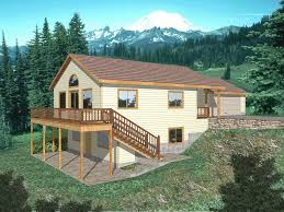 house plans sloped lot lakefront house plans sloping lot home building plans 20397