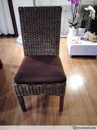 chaises tress es 4 chaises tressées table en meurisier a vendre 2ememain be
