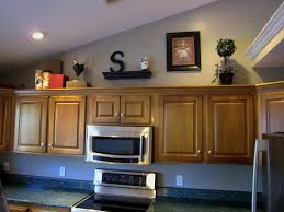 Decorating Kitchen Cabinets Decor Ideas For Top Of Kitchen Cabinets Home