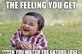 Florida Gator Memes - best 25 florida gator memes ideas on pinterest florida gators