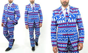 christmas suits braveman christmas suits with matching tie 40lx34w groupon