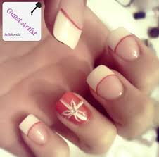 french tip christmas nails how you can do it at home pictures