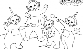 teletubbies coloring pagesfree coloring pages kids free