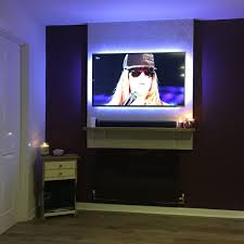 Cord Hiders For Wall Mounted Tv Samsung Led Tv And Sound Bar Wall Mount Installation Charlotte