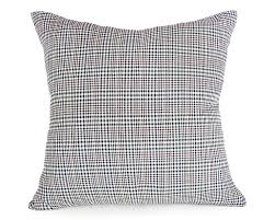 houndstooth home decor black white plaid pillows mens decorative pillow plaid