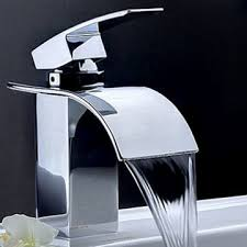Waterfall Bathroom Furniture Designer Bathroom Sink Faucets With Well Contemporary Waterfall
