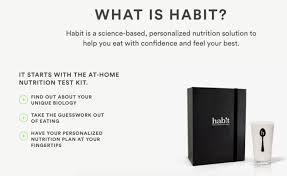 Personalized Nutrition Plans Habit