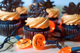 chocolate halloween cakes chocolate spiderweb halloween cupcake toppers the soccer mom blog