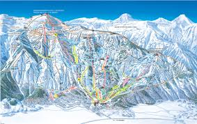 Montana Ski Resorts Map by Jackson Hole Piste Maps And Ski Resort Map Powderbeds