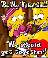 simpsons valentines day card rejected s day cards