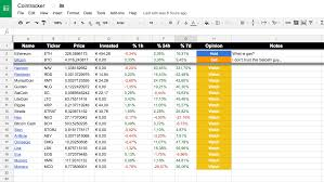 My Spreadsheet Track Your Cryptocurrency Portfolio With Google Spreadsheets