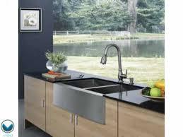 33 inch farmhouse kitchen sink vanity vigo vg3320bl 33 inch farmhouse 16 gauge double bowl kitchen