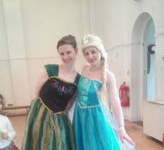 frozen themed party entertainment frozen themed children s parties in manchester elsa and anna