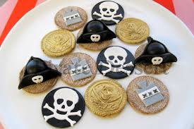 Pirate Cake Decorations Edible Pirate Cupcake Toppers Pirate Captain Party Set Pirate