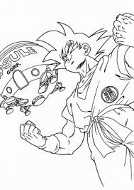 dragon ball coloring sheets archives coloring 4kids