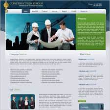free webpage templates html construction group template free website templates in css html