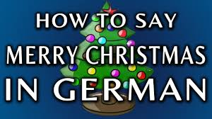 how to say merry in german