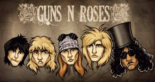 how to draw guns n roses by pop culture free