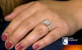 seconds earrings sewer workers rescue engagement ring and stud earrings after