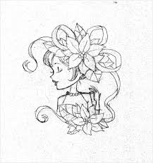 simple and easy designs draw on paper how to draw a simple flower