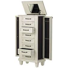 Hives And Honey Jewelry Armoire Jewelry Armoires Jewelry Armoires You Ll Love Wayfair Silver Gl