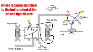 Ceiling Fan And Light Switch How To Wire Ceiling Fan With Light Switch Outdoor Ceiling Fans