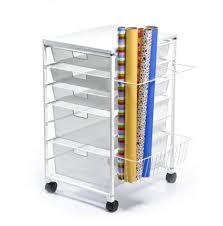 christmas paper storage organizing gift wrap neat method