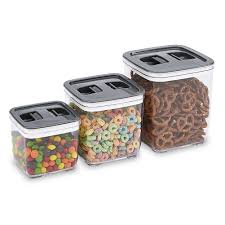28 airtight kitchen canisters le chef 3 piece airtight