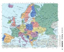 Russia Map Russia Map Russian Federation Europe And Of With Cities Rivers