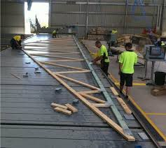 prefabricated roof trusses australians manufacture 75 trusses sbc magazine