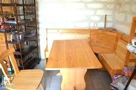 banc de cuisine en bois avec dossier table avec banc cuisine banquette cuisine en bois superbe a faire