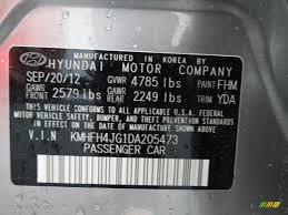 2013 azera color code fhm for hyper silver metallic photo