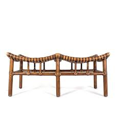 bench mcguire furniture antalya double seat bench decor nyc store