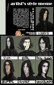 Snape Always Meme - snape artist s style meme by sevenluck on deviantart