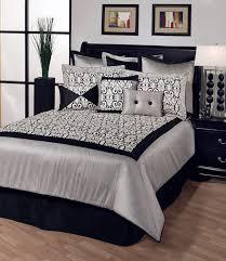 Black White And Orange Bedroom Black White And Grey Bedroom Bedroom Ideas