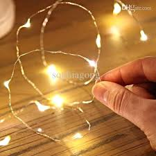 copper wire lights battery battery powered white string lights submersible coin led copper wire