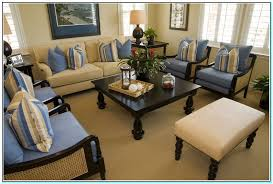 Blue Accent Chairs For Living Room Blue And Beige Accent Chairs Living Room Torahenfamilia Blue