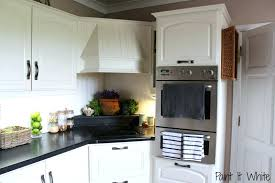 Kitchen Cabinets Glass Inserts How To Update And Refinish Oak Kitchen Cabinets Pastel Wall Paint