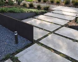Concrete Slabs For Backyard by Large Concrete Pavers Houzz