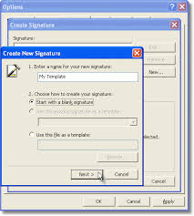 outlook stationery letterheads and templates using signatures